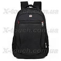 Мужской рюкзак непромокаемый DengSiya 5841, черный.