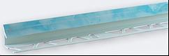 Угол внутренний под плитку (7-8 мм) мрамор голубой LTR06