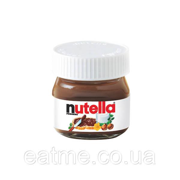 Nutella mini Мини баночки с шоколадно-ореховой пастой