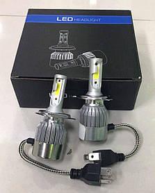 Комплект светодиодных автомобильных LED ламп C6 H4