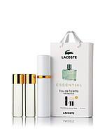 Подарочный набор  Lacoste Essential 3 по 15 мл