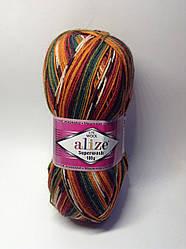 Пряжа Superwash 100 Alize (75% - шерсть)