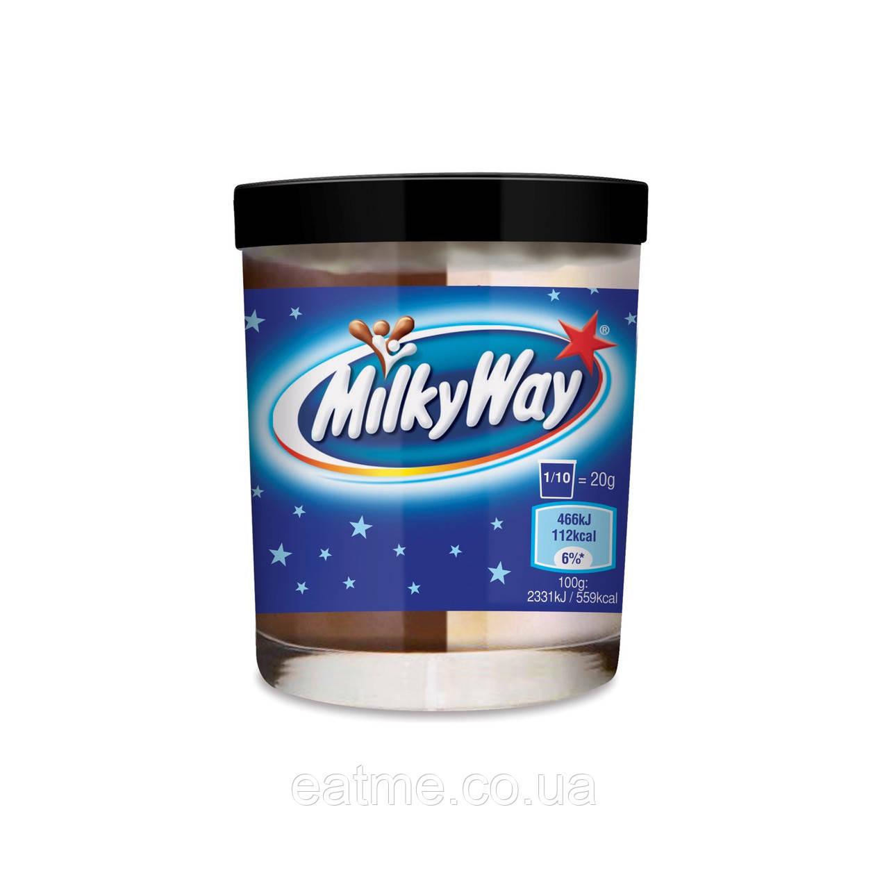 Шоколадная паста Milky Way из молочного и белого шоколада