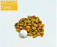 Гравий цветной (Желтый) декоративный для сада , окрашенная речная галька (52192)