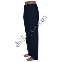 Мужские спортивные штаны трикотаж синие НОРМА B230-2 оптом со склада в Одессе