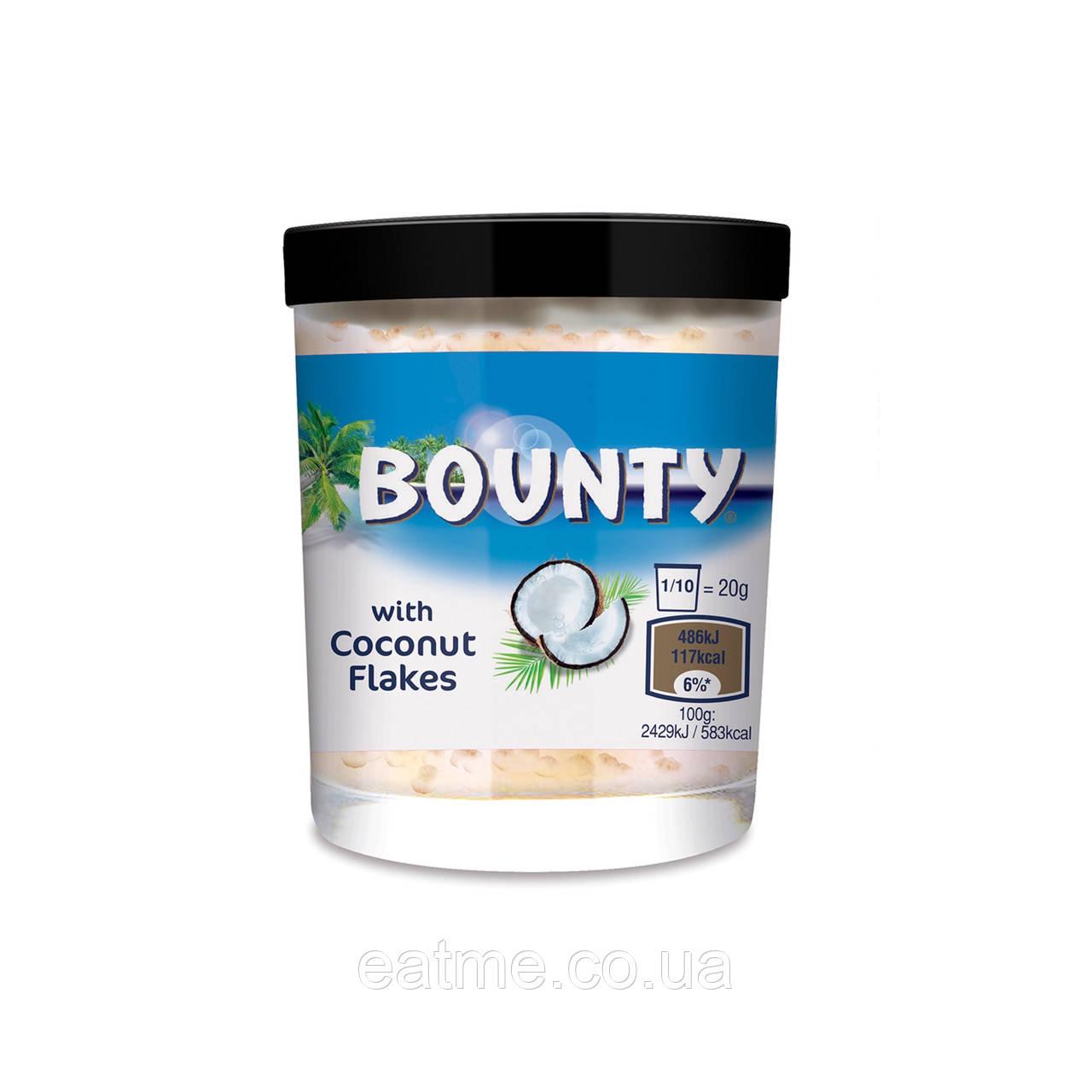 Шоколадная паста Bounty из белого шоколада с кокосовой стружкой