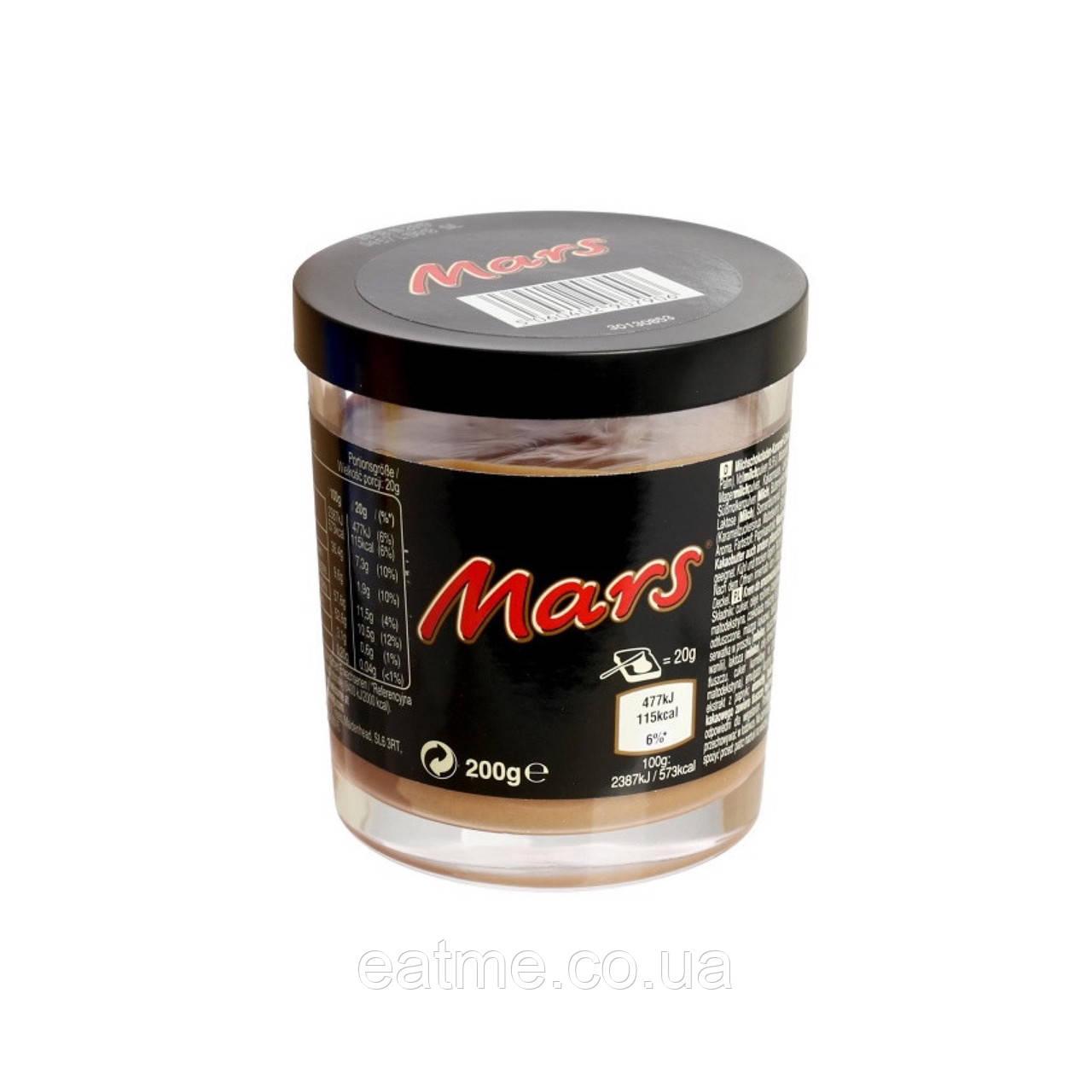 Шоколадная паста Mars из молочного шоколада с карамелью