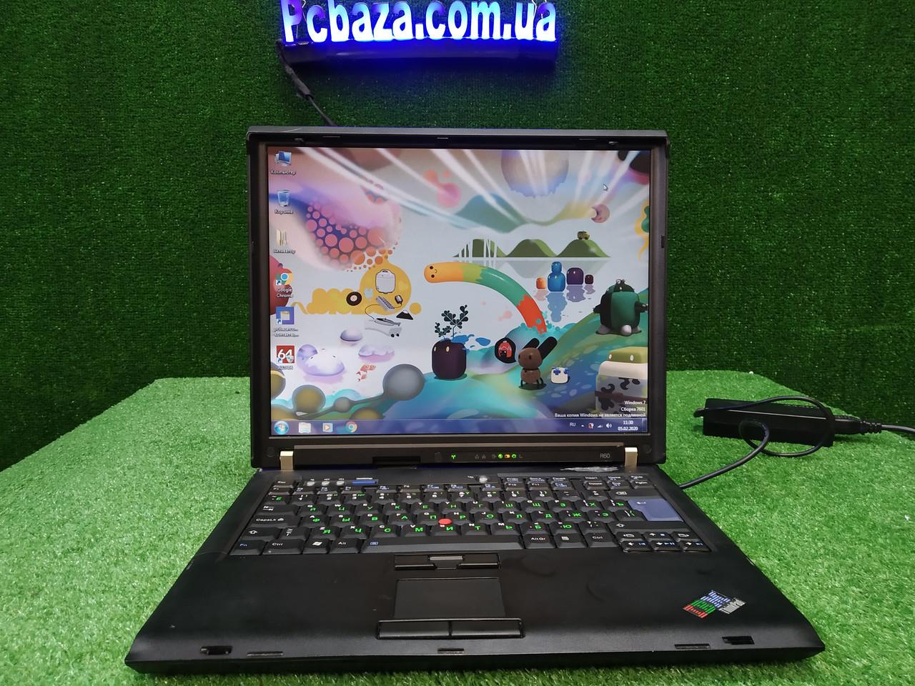 "15"" 2 ядра\ 2ГБ\ 160 ГБ Lenovo IBM ThinkPad R60 для работы и учебы"