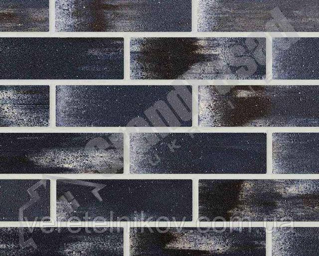 Гибкий кирпич клинкер гладкий «ELASTOCLIN» (Эластоклин) цвет №36 белая затирка