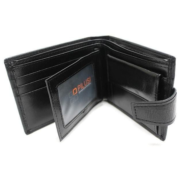 Мужской кошелек из кожзаменителя  Pilusi YR F-208