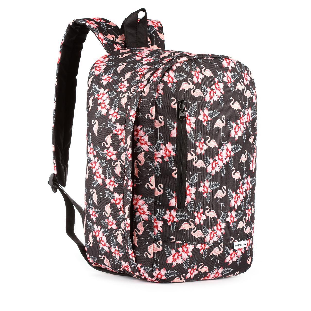 Рюкзак для ручной клади Wascobags 40x25x20 Prague Flamingo