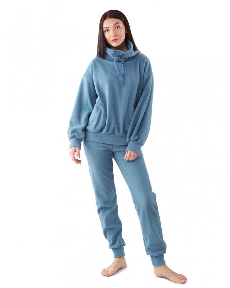 Женский домашний костюм из флиса (размеры S-2XL в расцветках)