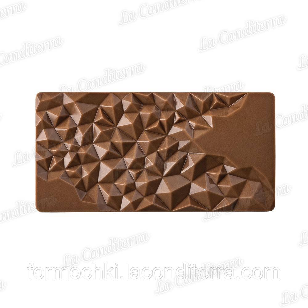 Форма поликарбонатная для шоколадных плиток Fragment PC5004 Pavoni