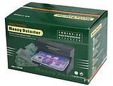 Детектор валют ультрафиолетовый от сети для проверки купюр 8 W 118AC UKC Черный, фото 7