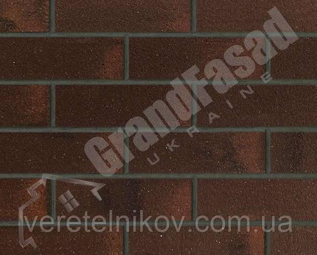 Гибкий кирпич клинкер гладкий «ELASTOCLIN» (Эластоклин) цвет №40 затирка графит