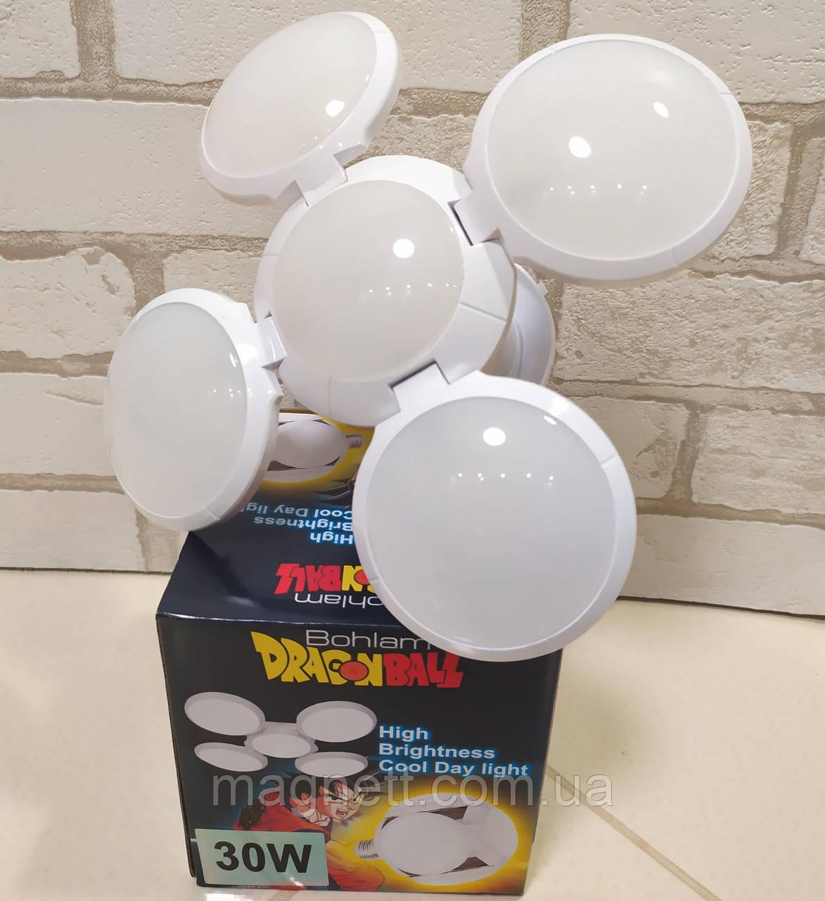 Универсальная деформируемая складная лампа 30W E27 Bohlam Dragonball