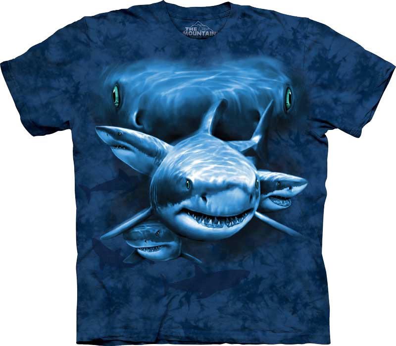 Футболка The Mountain Shark Moon Eyes 103580