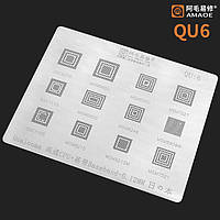 Amaoe BGA трафарет QU:6 0.12mm для процессоров Qualcomm