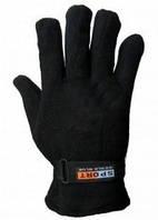 Перчатки флис спорт зима плотный