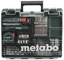 Аккумуляторный шуруповерт Metabo BS 14,4 Li 2 Акб 2.0 Ач Mobile Workshop (602206880), фото 2