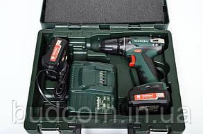 Аккумуляторный шуруповерт Metabo BS 14,4 Li 2 Акб 2.0 Ач Mobile Workshop (602206880), фото 3