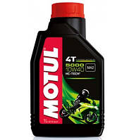 Моторное масло Motul 5000 4T 10w40