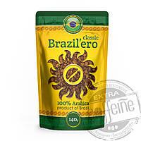 """Кофе натуральный растворимый сублимированный """"BRAZIL`ERO™"""" Classic,140 г"""