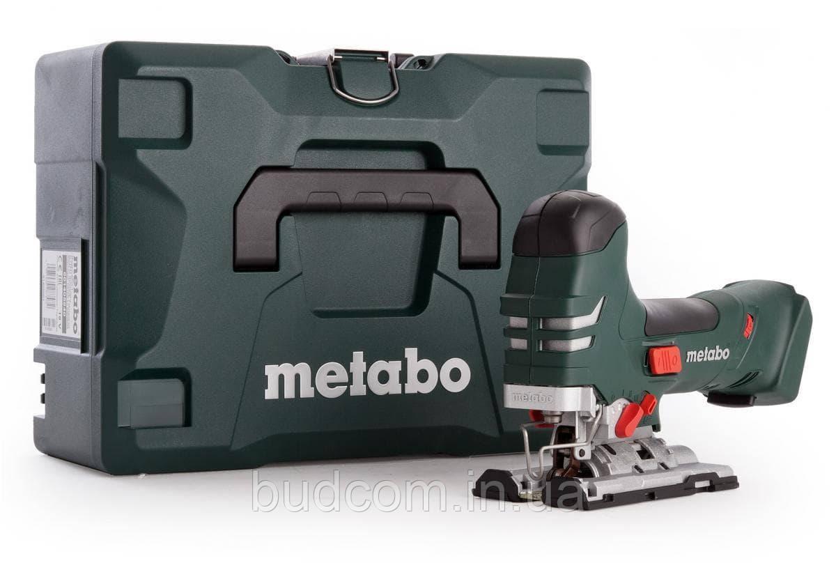 Аккумуляторный электролобзик Metabo STA 18 LTX 140 Каркас MetaLoc (601405840)