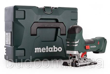 Аккумуляторный электролобзик Metabo STA 18 LTX 140 Каркас MetaLoc (601405840), фото 2