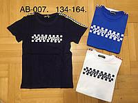 Трикотажные футболки для мальчиков Glass Bear  134-164 р.р., фото 1