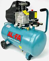 ✔️ Компрессор AL-FA ALC02 _ 2.8кВ _ 50л _ 280 l/min, фото 3