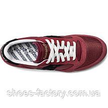 Мужские кроссовки Saucony Jazz Vintage, 70368-131s (Оригинал), Бордовый, фото 2
