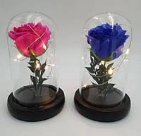 Роза в колбе с подсветкой , подарок для девушки на 8 марта