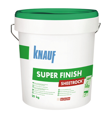 Шпаклевка финишная акриловая KNAUF Sheetrock Super Finish (28 кг)