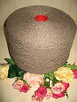 """Итальянская бобинная пряжа от New Mill art Magreb """"Мулине"""" 80% Меринос, 20% РА  750м /100 гр. Какао с молоком"""