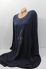 Женские батальные платья оптом G-O 8374, фото 3