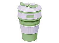 Складная силиконовая чашка Collapsible 350 мл (зеленый), фото 1