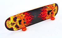 Скейтборд в сборе (роликовая доска) SK-5615 (колесо-PU, р-р деки 79х19х1см, АВЕС-7, цвета в ассортименте)