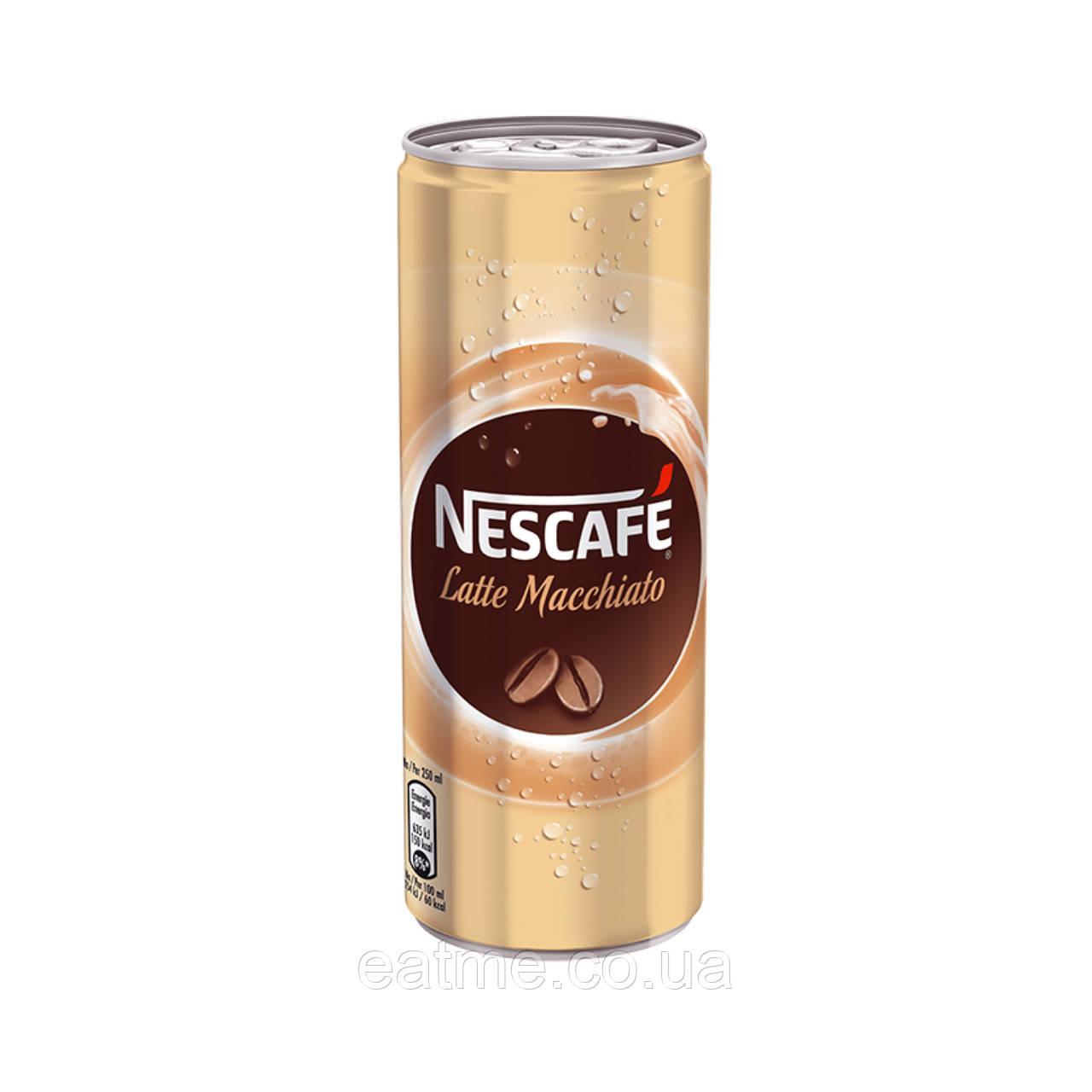 Холодный кофе Nescafé Latte Macchiato