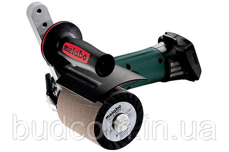 Аккумуляторная щеточная шлифовальная машина Metabo S 18 LTX 115 Inox Каркас (600154850), фото 2