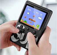 🔝 Портативна ігрова ретро приставка 8 біт Денді Retro Game Box SUP 400 in 1 Чорна, консоль | 🎁% 🚚