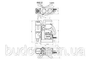 Сверлильный станок с магнитной станиной Metabo MAG 32 NEW (600635500), фото 2