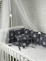 Комплект бортиков в кроватку(8шт)