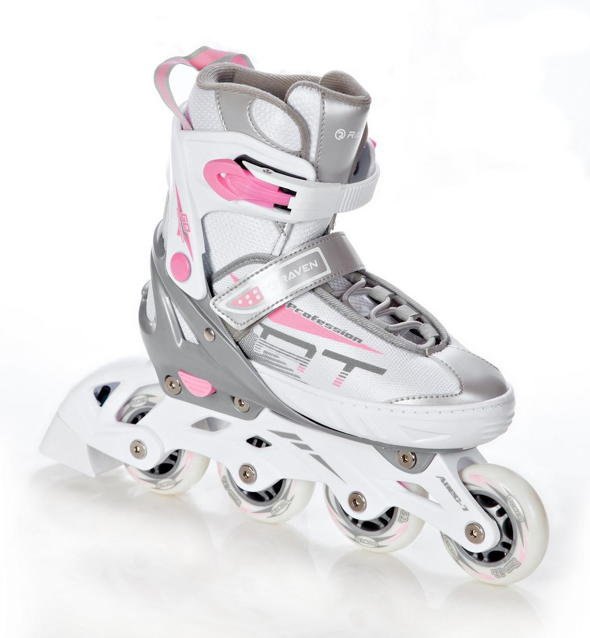 Роликовые коньки Raven Profession Style White/Pink