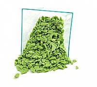 Посыпка осколки шоколада зеленые 250 грамм