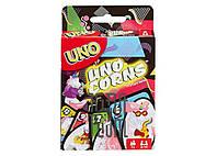 Детская настольная игра Уно Единороги (Uno Corns)
