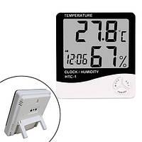 "Термометр гигрометр цифровой -10~50C ЖК 3.8"" термогигрометр HTC-1"