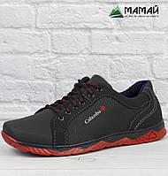 Чоловічі кросівки червона підошва