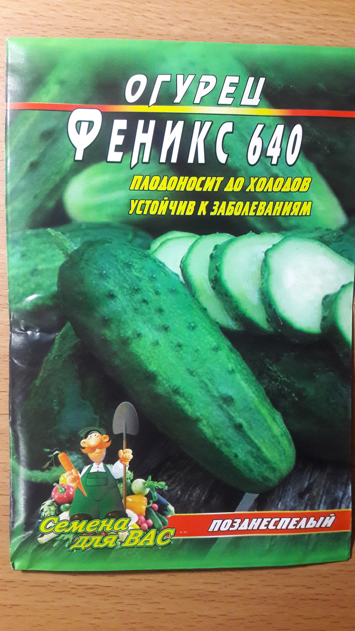Огурец Феникс 640 пакет 70 семян