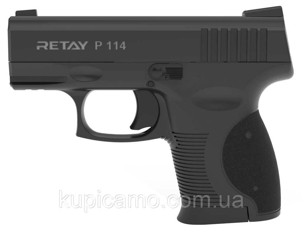 Шумовой пистолет Retay Arms P114 Black